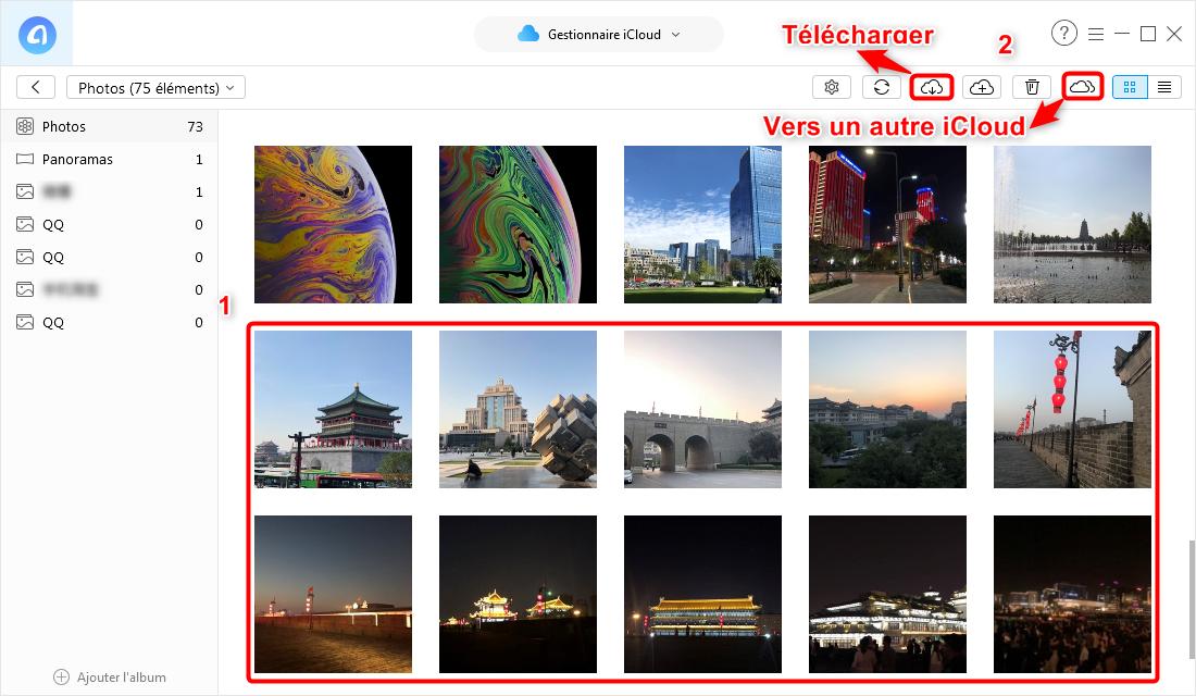 Voir photos sur iCloud avec AnyTrans pour iOS – étape 3
