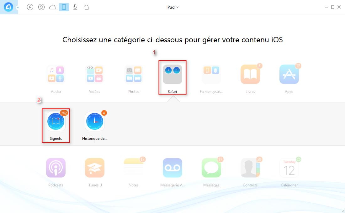 Comment supprimer les signets iPad rapidement – étape 2