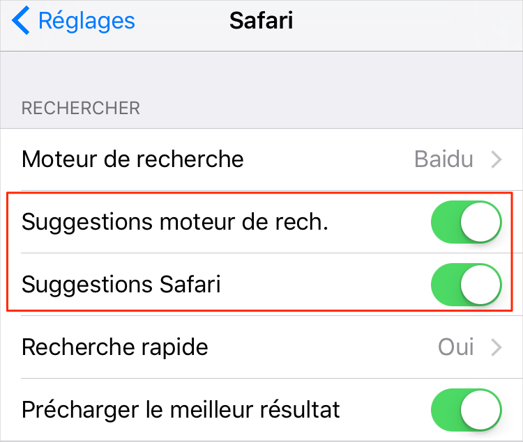 Problèmes et solutions d'iOS 9.2.1 - Crash de Safari