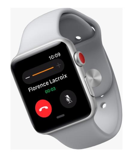 Comparer les Apple Watch 1/2/3