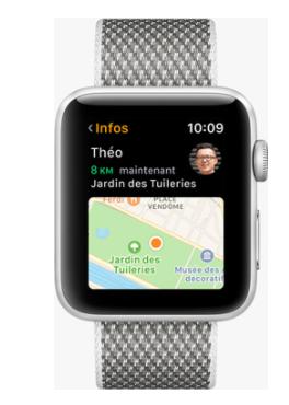 Les différances des Apple Watch Séries 1-3