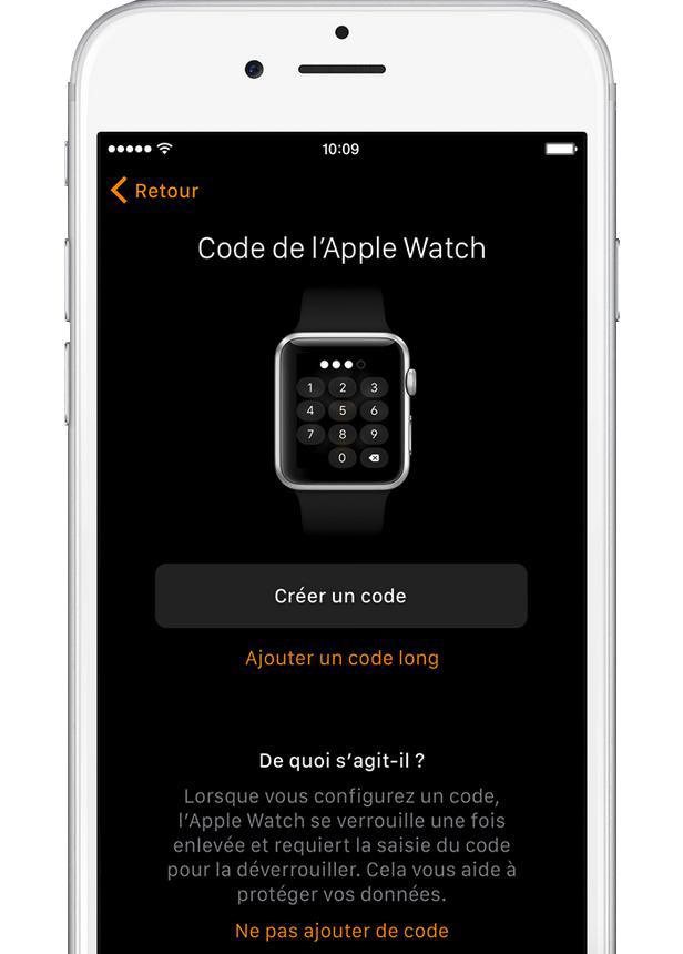 configurer et de jumeler votre Apple Watch – étape 6