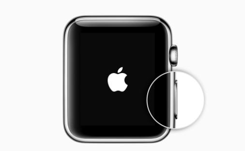 Allumez votre Apple Watch – étape 1