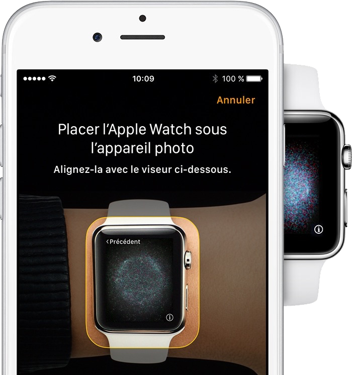 Lancez l'app Apple Watch - étape 2
