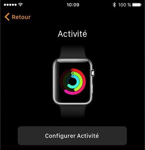 Configurez l'app Activité et SOS – étape 7