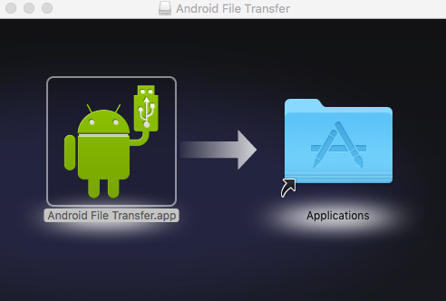 Installez Android File Transfer Mac