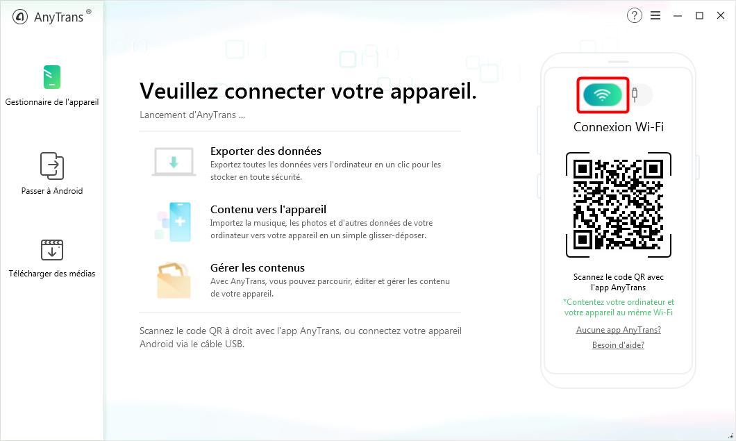 Téléchargez et lancez AnyTrans pour Android sur votre ordinateur - 1