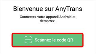 Scannez le code QR avec votre tablette Samsung - 2