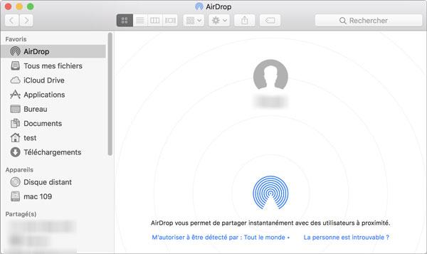 Connexion entre iPhone et Mac