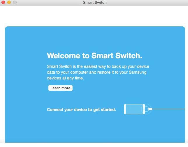 Connexion entre les deux appareils via Smart Switch