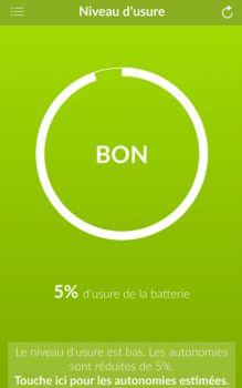 Consulter l'état de la batterie de l'iPhone