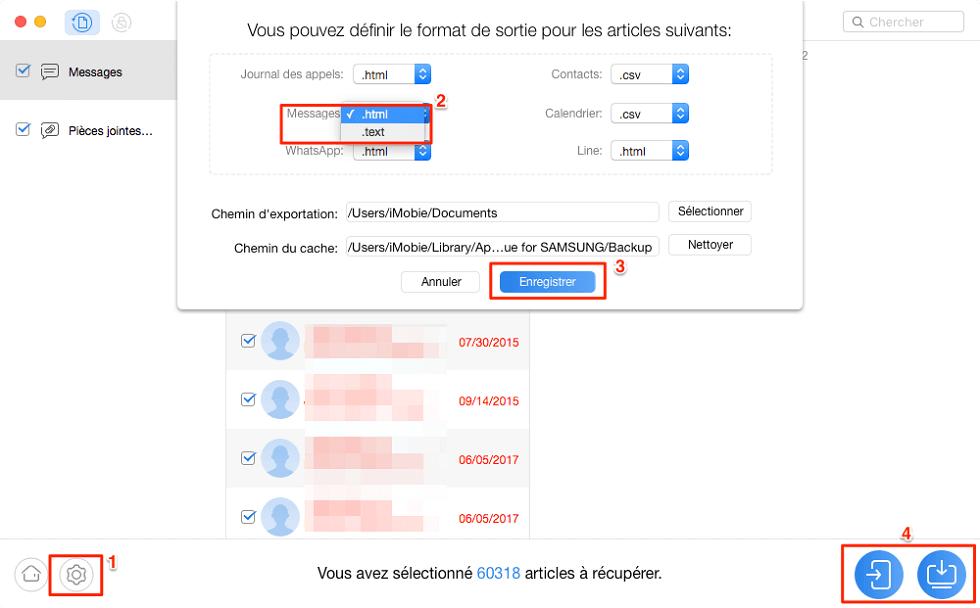 Récupérer les supprimés Android sur PC/Mac