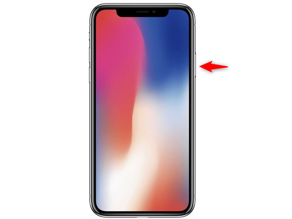 Démarrage de l'iPhone