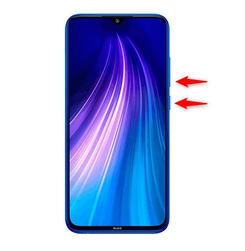 Démarrage en mode de récupération du Xiaomi