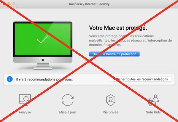 Désinstaller Kaspersky Mac