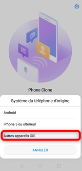 Détermination du système de l'iPhone