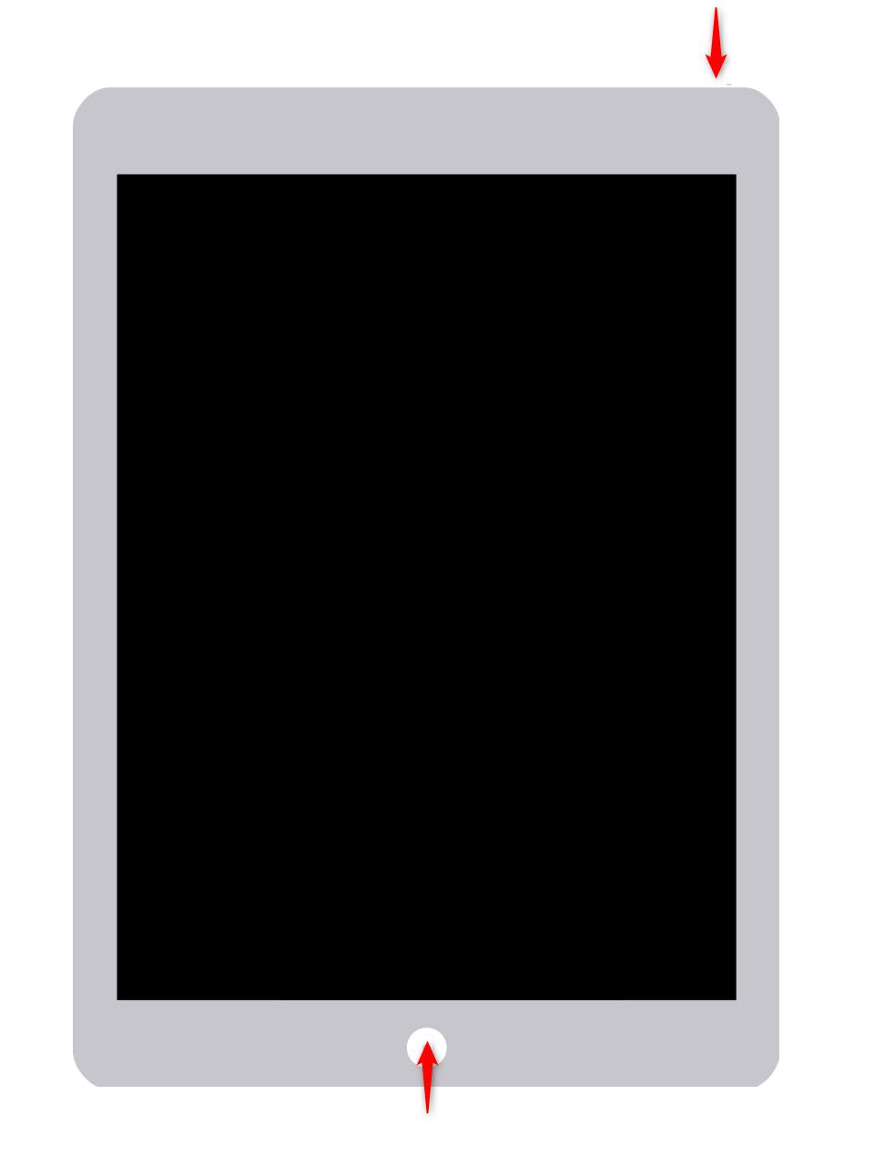 Redémarrage de l'iPad