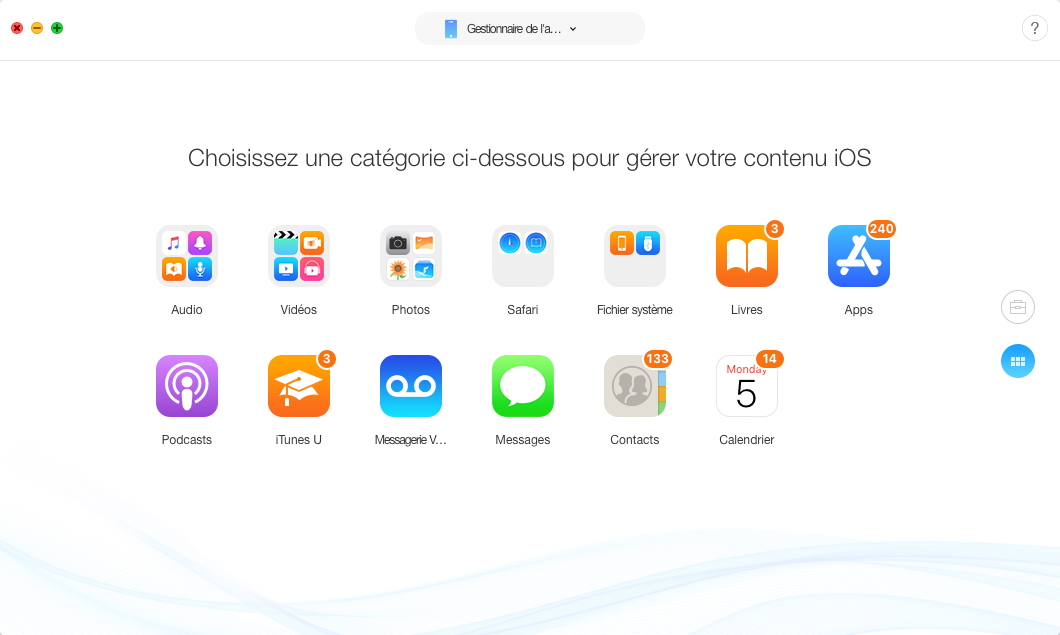 Sauvegarder votre iPhone avant la mise à jour iOS 12/12.1.1