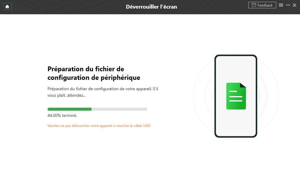 Préparation du fichier