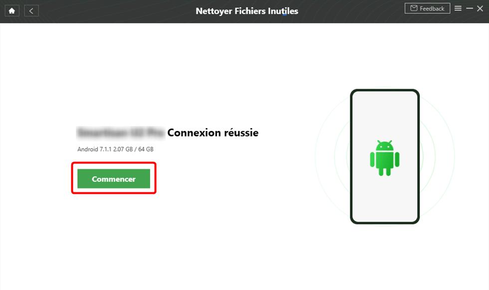 Connectez l'appareil Samsung