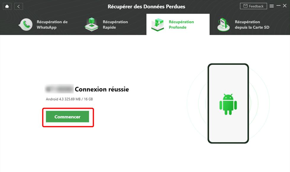 Connecter votre appareil Android