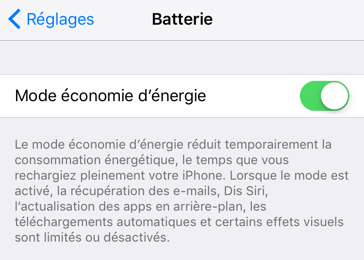 16 conseils de prolonger la vie de la batterie iphone imobie. Black Bedroom Furniture Sets. Home Design Ideas