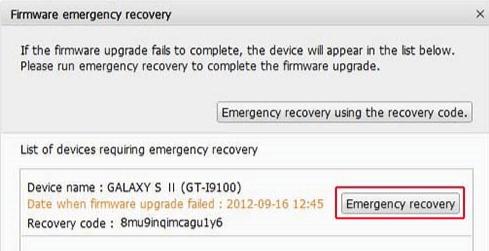 Restaurer données Samsung A depuis Kies