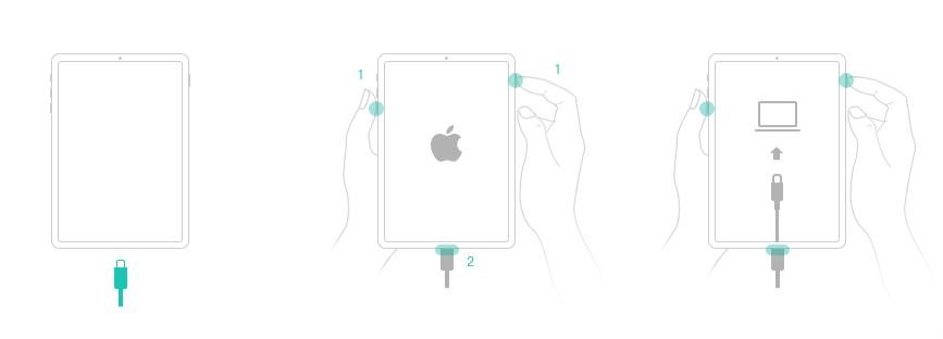 Comment entrer le mode récupération pour iPad avec Face ID