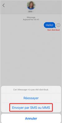 Envoyez par SMS ou MMS