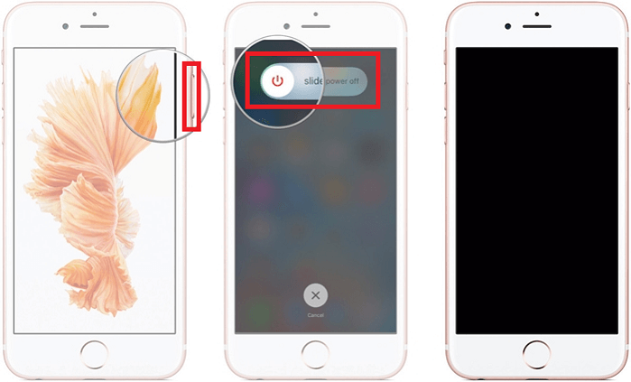 Eteindre ou redémarrer iPhone