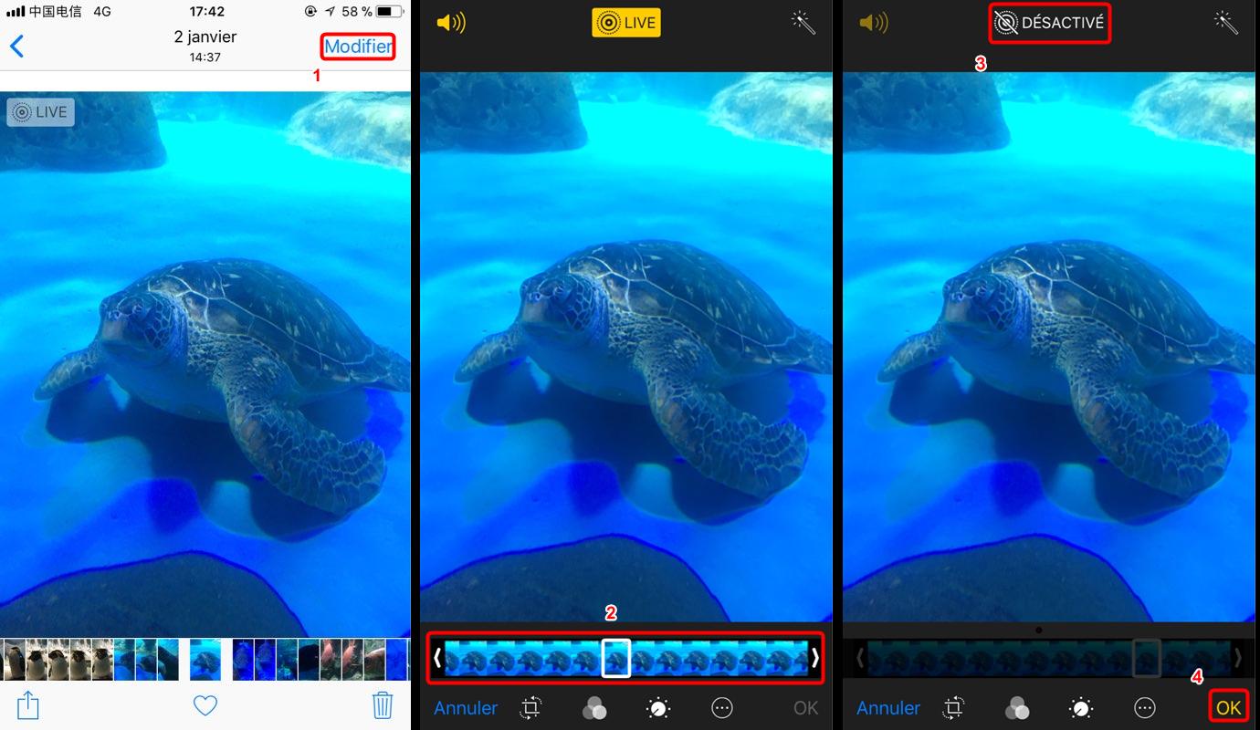 Comment extraire une photo à partir d'une Live Photo – Étape 2