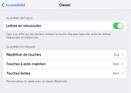 Fonctionnalités Cachés d'iOS 9 - Le clavier devient plus clair