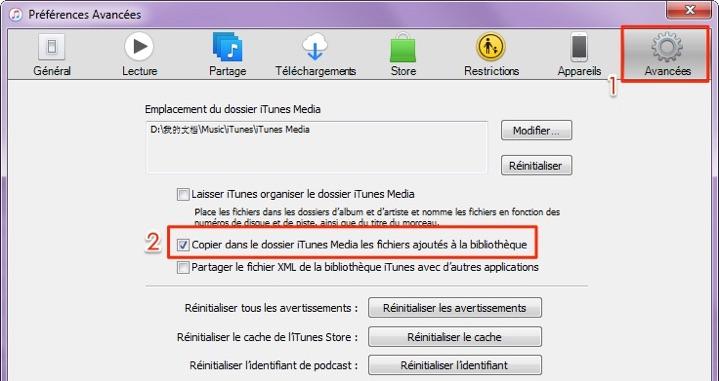 Comment ajouter une musique sur iTunes
