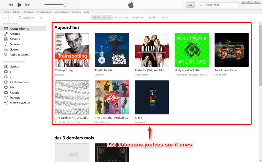 Comment mettre facilement de la musique sur iTunes