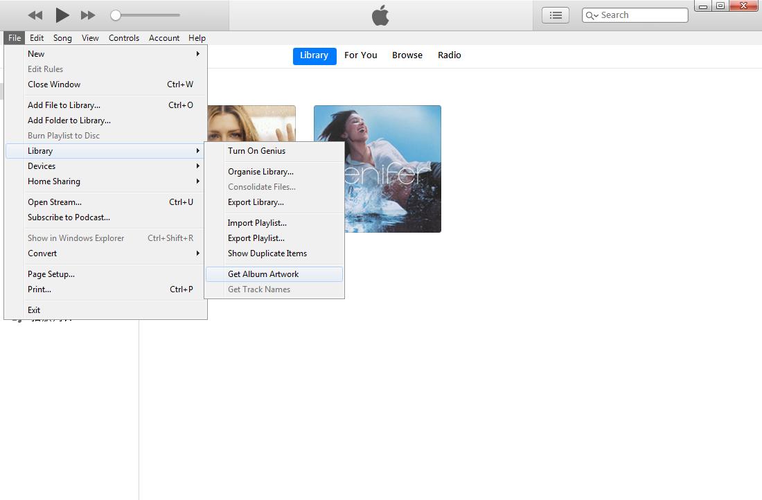 Comment ajouter les illustrations d'album manquantes sur l'iTunes - 1