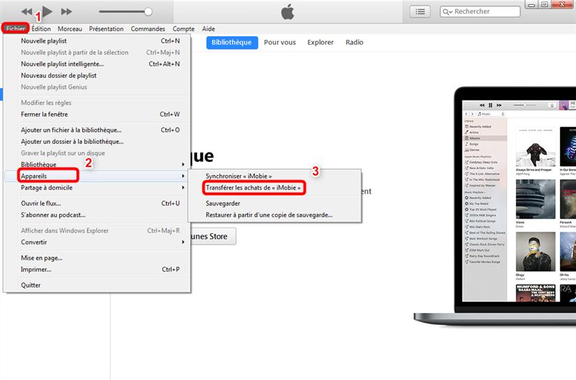 Comment transférer de la musique iPod vers Mac avec iTunes
