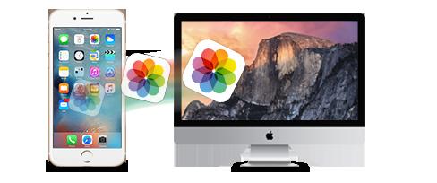 Comment copier des Photos d'un iPhone vers Mac 1
