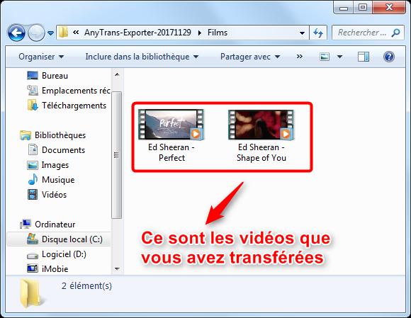 Comment transférer les vidéos de l'iPad vers l'ordinateur
