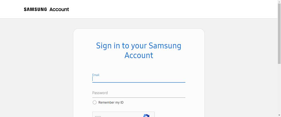 Identifiants Samsung Cloud