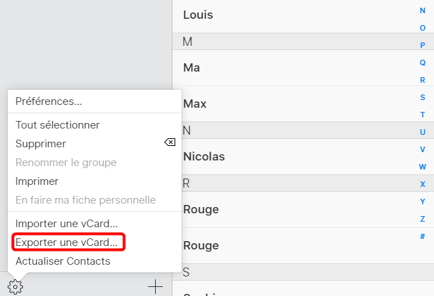 Transferer les contacts iPhone vers PC via iCloud