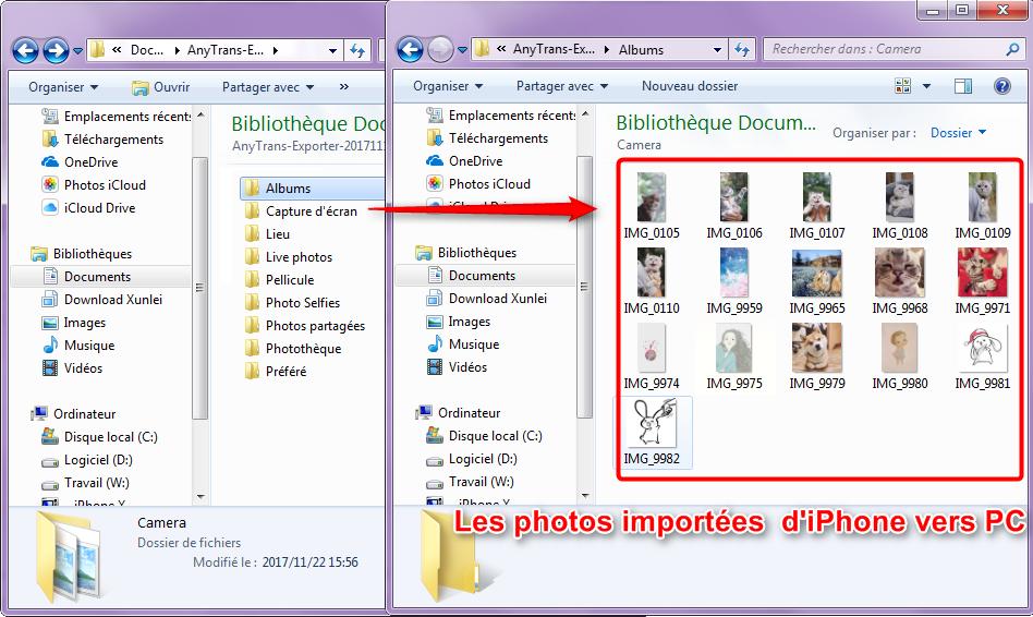 Comment importer les photos sur iPhone vers PC