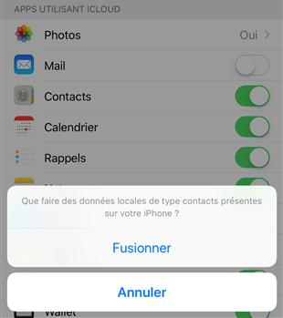 Importer vos contacts vCard/VCF sur iPhone avec iCloud