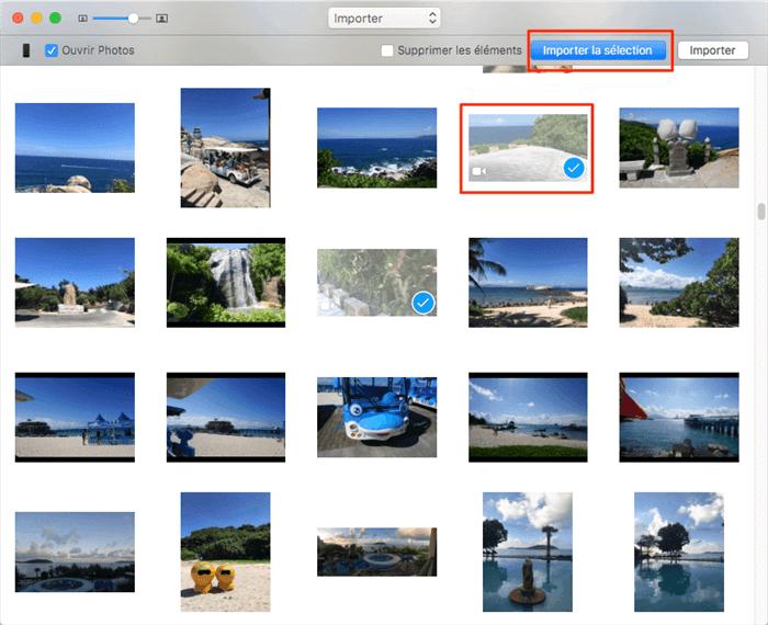 Comment importer des vidéos iPhone vers Mac