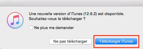 Comment mettre à jour iPad avec iTunes