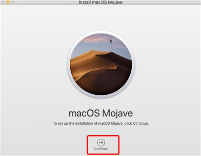 Réinstaller macOS Mojave