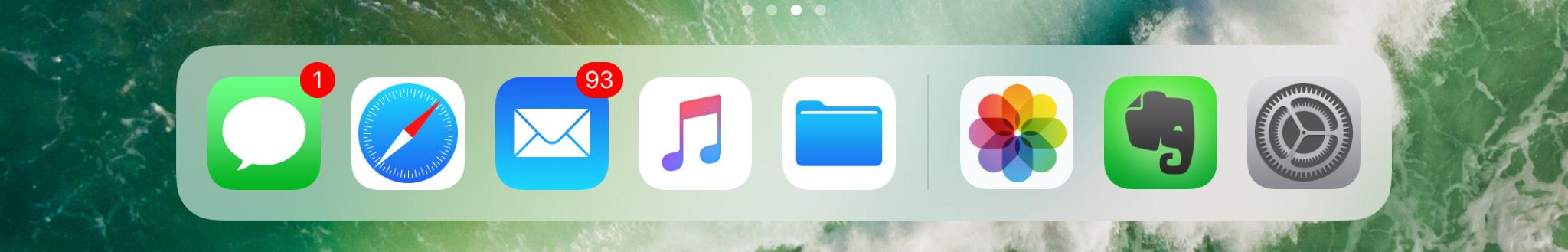 iOS 11 : Comment utiliser le Dock sur iPad