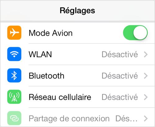 Comment activer le bouton Wi-Fi grisé d'iPhone 4s 2