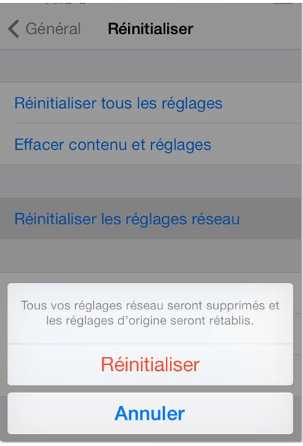 Comment activer le bouton Wi-Fi grisé d'iPhone 4s 3