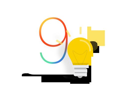 Astuces pour gérer le contenu sur l'appareil iOS 9