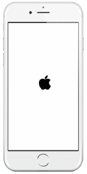iPhone bloqué sur la pomme